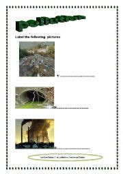 Problem of pollution essay writing